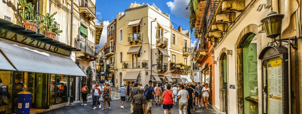 Taomina in Sicily