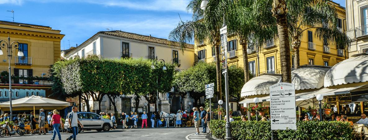 Sorrento town cafe