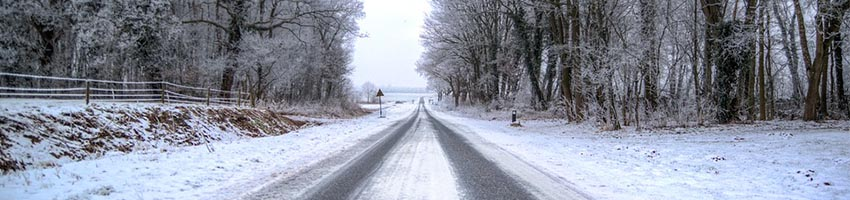 What do you need to keep in mind when renting a vehicle this winter?