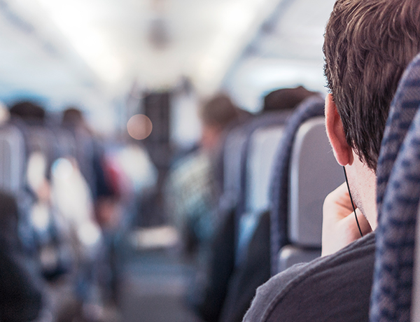 Top tip for nervous flyers - choose a big aircraft