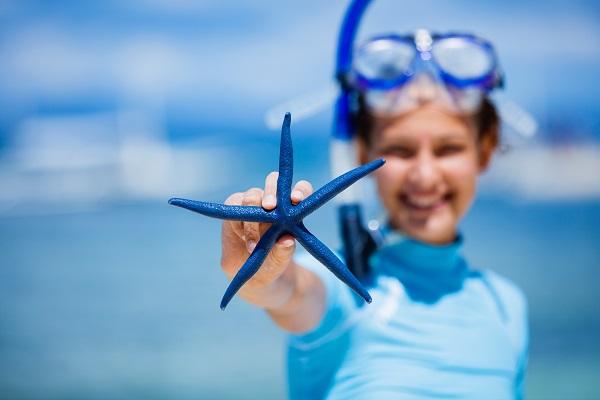 Child starfish