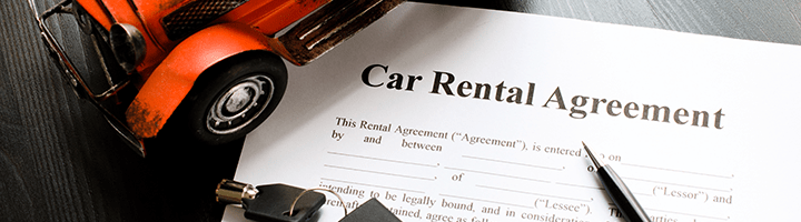Car hire contract