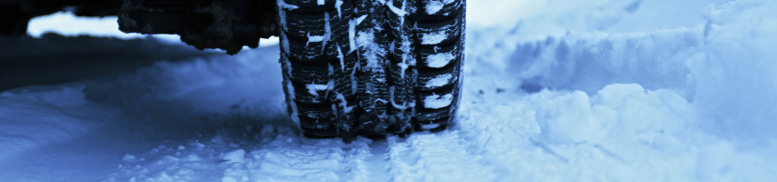 Rental cars equipped for winter