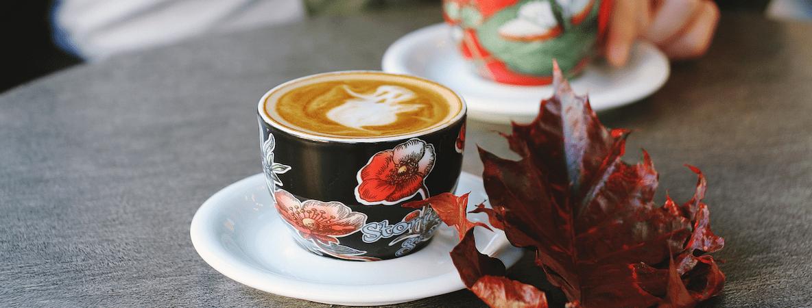 Halloween inspired coffee