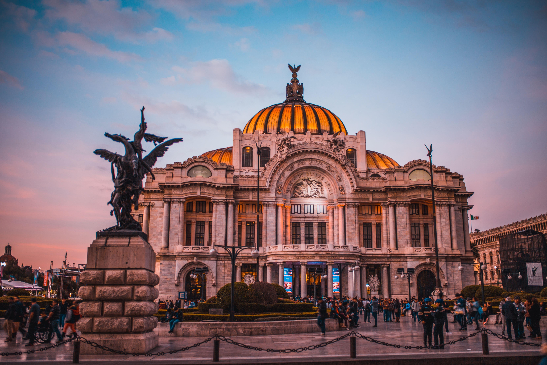 The Fine Arts Palace aka Palacio de Bellas Artes