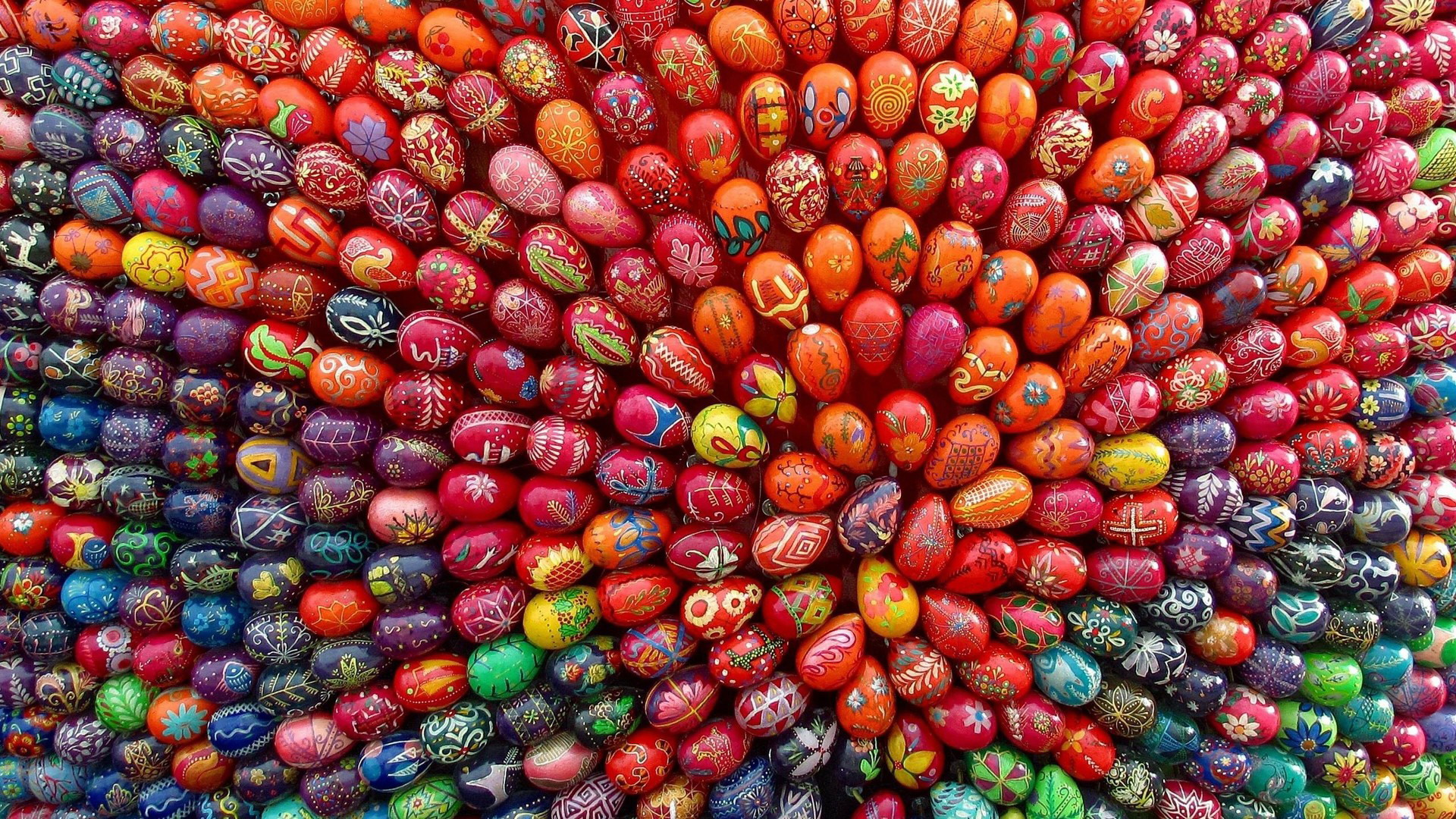 Easter Eggs - paint them, hide them, eat them, collect them!