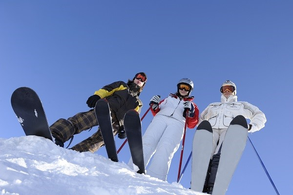 10 reasons why you should go on a ski holiday!