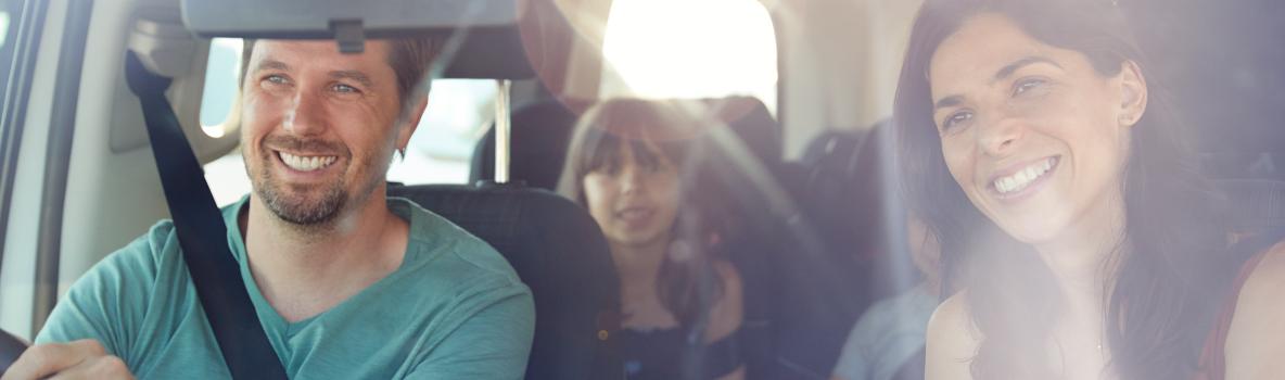 family car journey