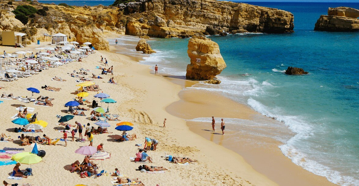 Praia de São in Albufeira