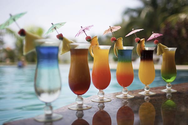 What type of poolside holiday tipple are you?