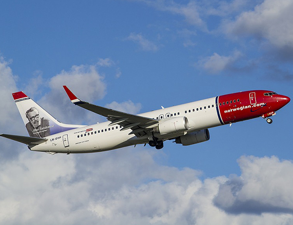 Passenger numbers up for Norwegian
