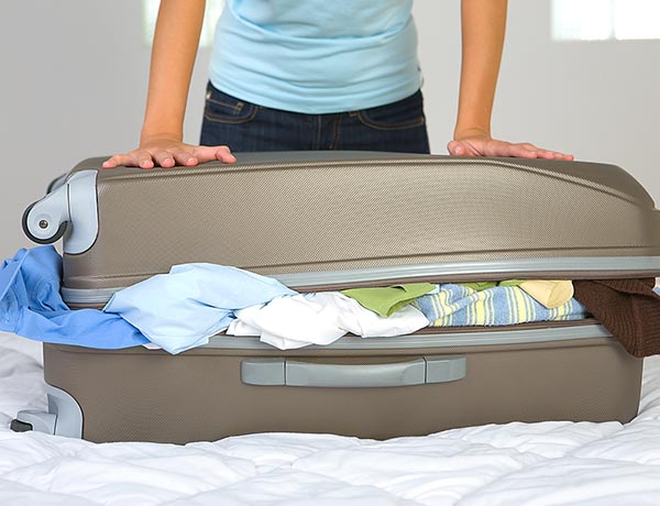 Over packing costs British travellers 619 million pounds in excess luggage fees