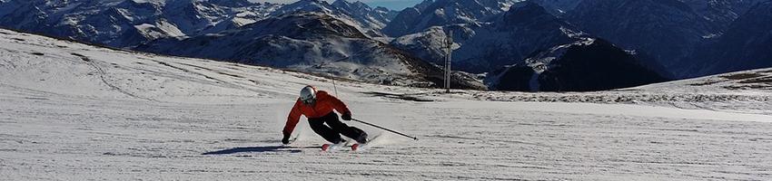 Alps snow is good news for half-term skiers