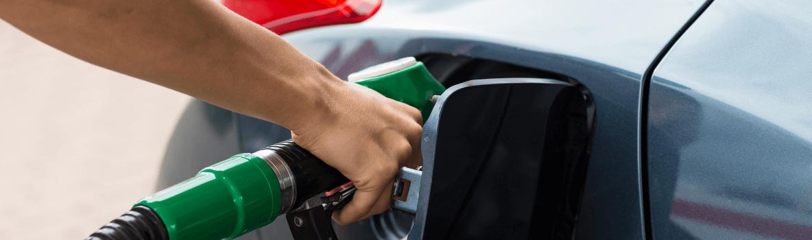 refuelling a car
