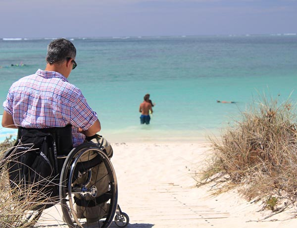 Travel becoming easier for Brits with accessibility issues
