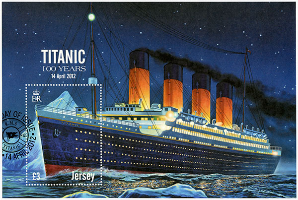 The maiden Voyage of the Titanic