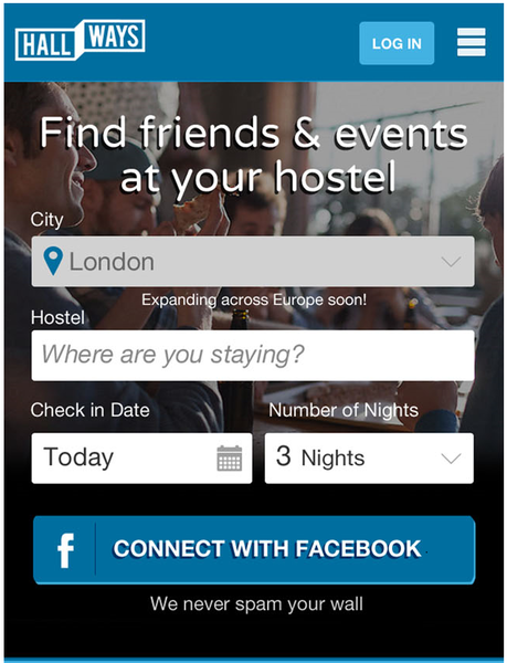 Backpacker bonding: 'first ever social network for hostels' launched